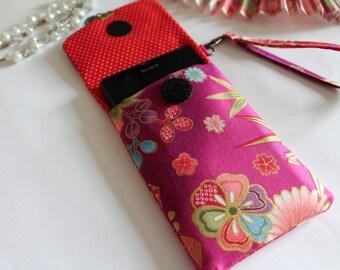 size custom phone case - fucsia -  Akane