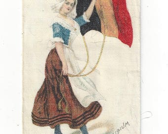 Vintage Belgium Nebo Cigarette Silk, 1910s