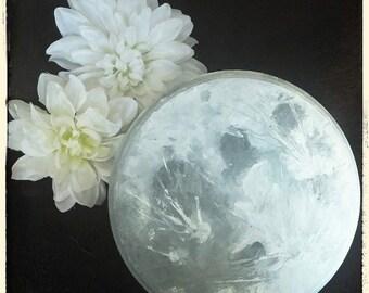 Moon Plaque - Handpainted Pine