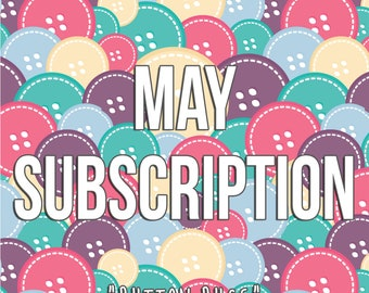 May Monthly Subscription - Button Bugs