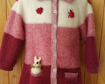 Fluffy Sweater, Cosy and Warm, for 3-4 Year Child (ready to ship)
