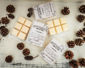 CHOOSE SIX--Soy Wax Melts--Choose 6--Scented Soy Tart--All Natural--Eco Friendly--Non-Toxic--Wax Tart