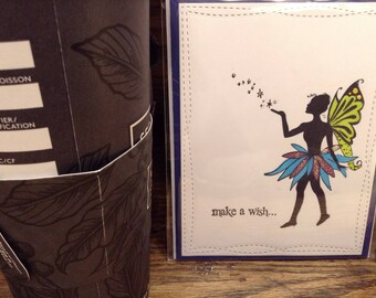 Make a Wish Fairy Greeting Card