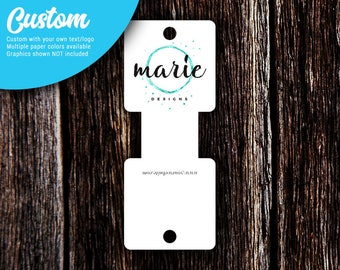 """Rounded Fold Over Tags 