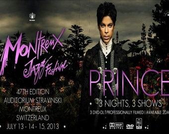 Prince Montreux 2013 3 dvd set Excellent quality highly recommended!!