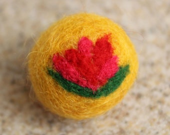 ADD ON: Needle Felted Flower