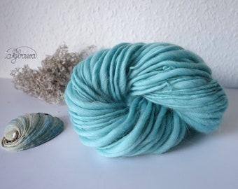 handspun thick/thin opal merino wool
