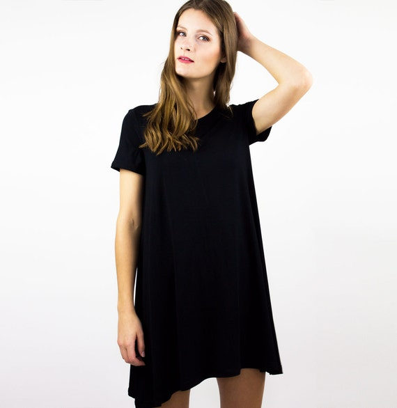 Maternity Hospital Gown Bamboo Nightgown Little black dress