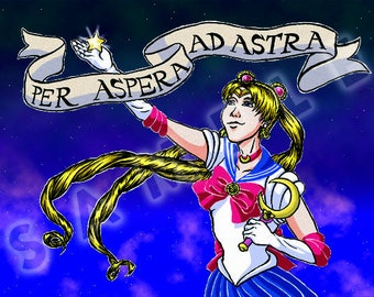 CHARITY PRINT - Sailor Moon