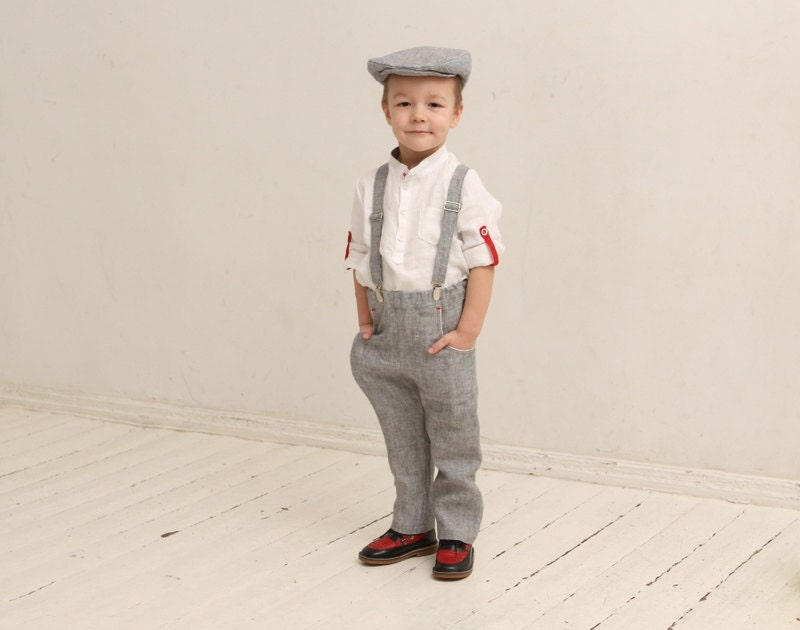 Ring bearer outfit Wedding party outfit Page boy outfit Family