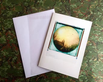 Fine Art Cards ~ Giclée print on 270gsm ultra smooth portfolio rag matt paper, acid free & archivally sound A4 folded.