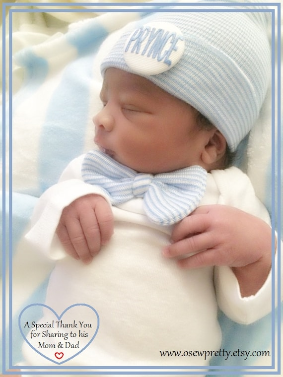 Newborn Boy Coming Home Outfit with matching hat and socks