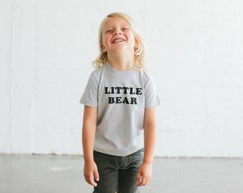 Little Bear, children's shirt by The Bee & The Fox
