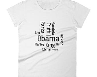 Black History Lives Matter Women's short sleeve t-shirt