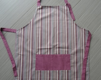 Apron - Purple and pink