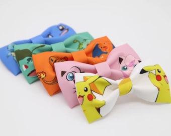 Funny Pokemon Pikachu Bowtie