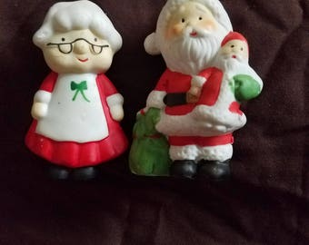 Mr. and Mrs. Santa Claus Ornaments