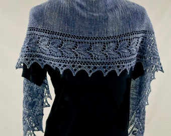 PDF Knitting Pattern - Garden Path Shawl/scarf