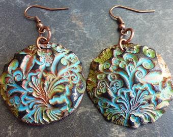 Taste of summer polymer clay earrings