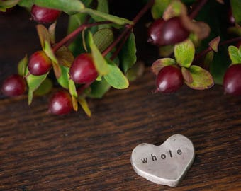 whole heart pocket talisman
