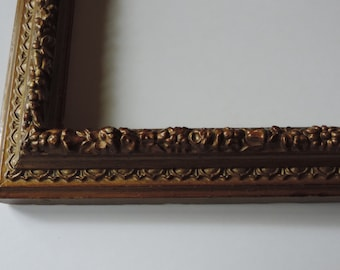 Antique Gold Frame Gesso Gilded Frame 19th Century Wooden Picture Frame Wall attachments
