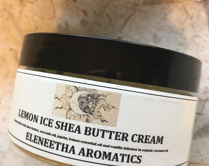 Silky Beautiful Shea Butter Cream with Five Fold Lemon Oil Vanilla