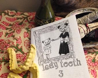 lady teeth 3 / your secretary 15 split zine