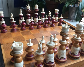 Vintage Chess Set - Absolutely Awesome