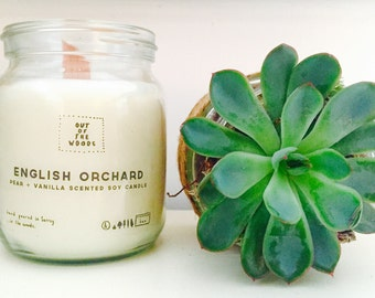 English Orchard Soy Candle