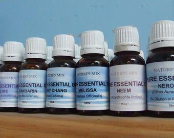 Pure Lemongrass Essential Oil **15mL**