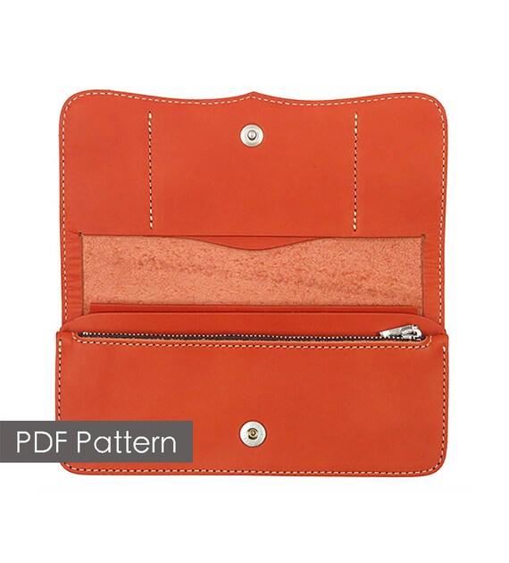 Construisez votre propre cuir portefeuille long motif mod le for Construisez votre propre plan