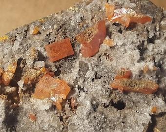 Beautiful Red Cloud Wulfenite specimen
