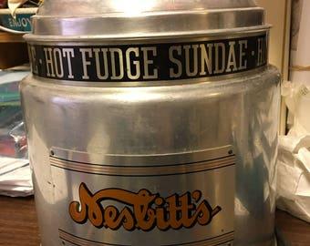 NESBITTS Hot Fudge Warmer