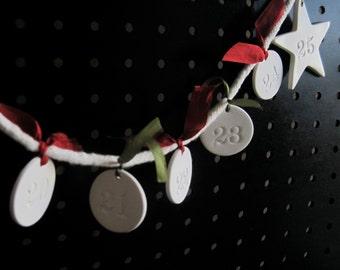 Advent Calendar in Keepsake Wooden Box by Paloma's Nest