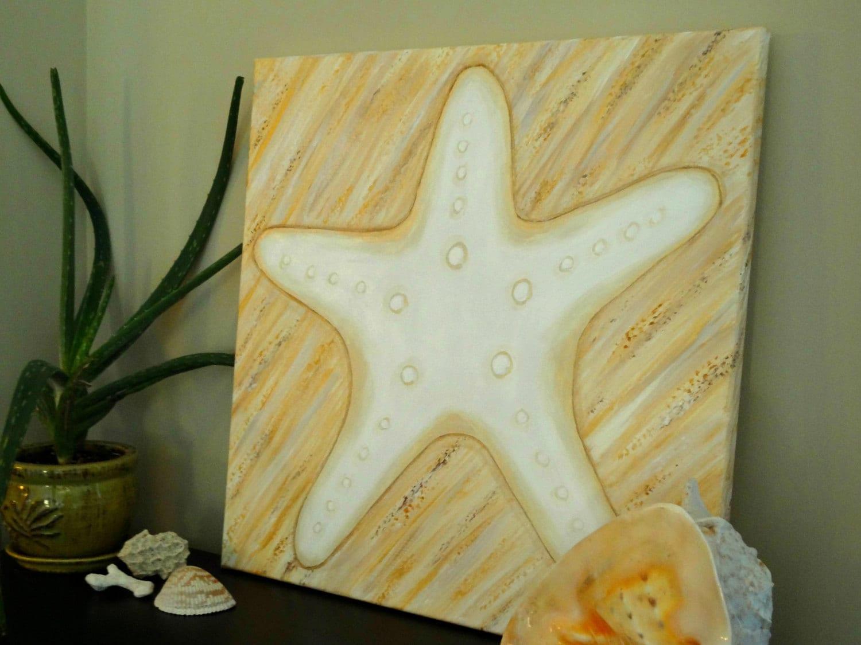 Starfish Painting Beach DecorNautical Decor Nursery