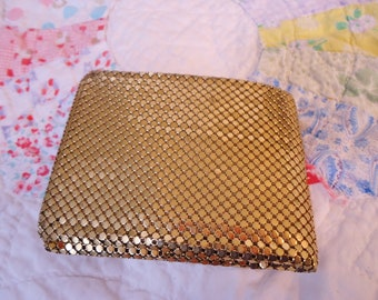Vintage Whiting and Davis Gilt Mesh Wallet