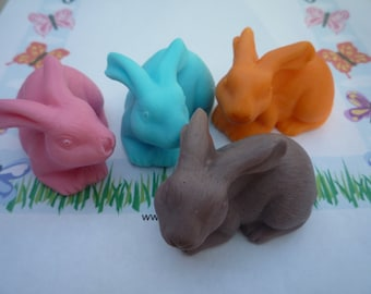 easter bunny soap x 1