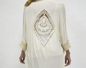 1970 S Granny Squares Sweater Set Crochet Pattern