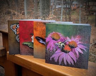 Pollinator Greeting cards, Feeling Springtime
