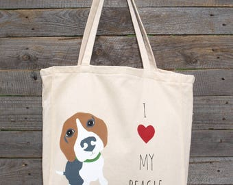 Beagle / Beagle Tote Bag / Beagle Gift
