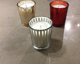 Holiday Votive-Silver