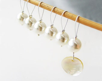 Every Cowslip's Ear - Six Snag Free Stitch Markers - Fits Up To 5.5 mm (9 US) - Open Edition
