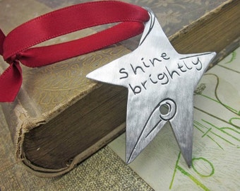Shine Brightly Star Ornament - Bookmark - Gifts Under 15.00 - Ministry Gifts