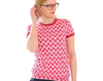 """Retro shirt """"Magda"""" Pink Apple"""