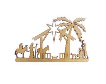 Nativity Christmas Ornament - Nativity Ornament - Nativity Christmas Decor - Nativity Holiday Decor - Christmas Decoration - Christmas Decor
