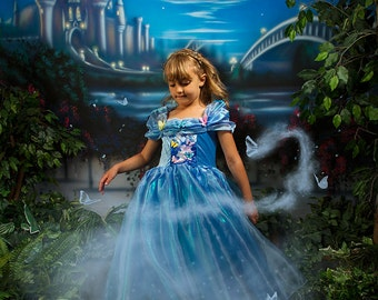 22  Magical Mist and Butterfly Photography Overlays Inspired by the New Cinderella Movie
