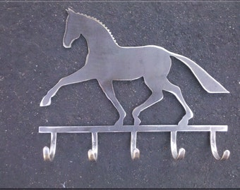 Dressage Horse with Hooks