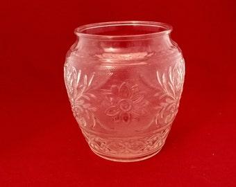 Tiara, Sandwich Glass, Round Vase