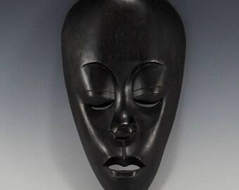 Indonesian Mask Wood Lombok