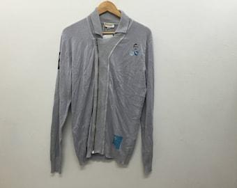 Vintage Diesel Deadstock cardigan sweatshirt Japan Production late 90's luxury Italian designer